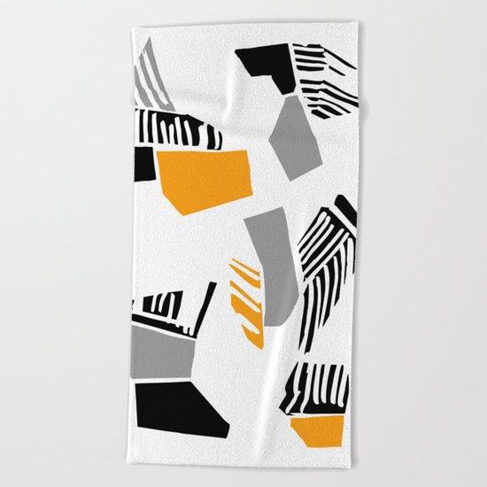 abstract 60 Beach Towel
