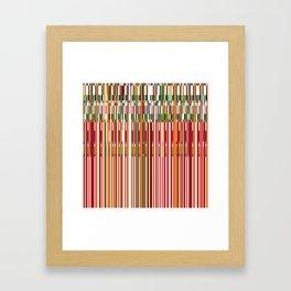 f#ck up one Framed Art Print