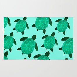 Turtle Totem Rug