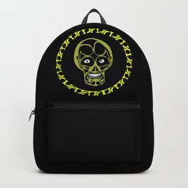 anxious skull Backpack