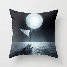 Set Adrift II Throw Pillow