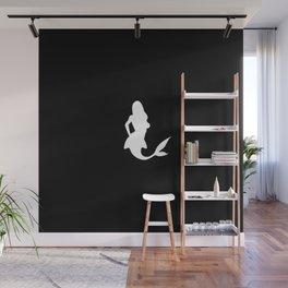Mermaid: Black Wall Mural