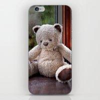 teddy bear iPhone & iPod Skins featuring Teddy Bear  by Fran Walding