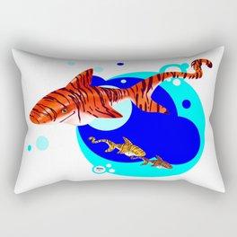 Tiny Tiggers Rectangular Pillow