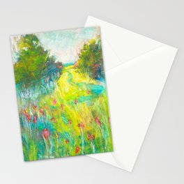 wildflowers (here today) Stationery Cards