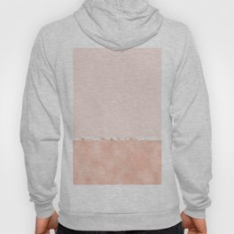 Peaches and cream marble Hoody