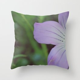 Muted Color Throw Pillow