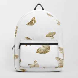 Golden Butterfly Dreams Backpack