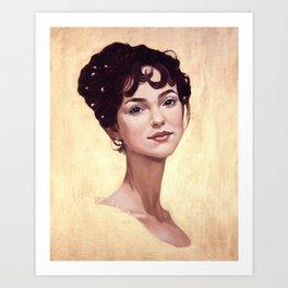 Elizabeth Bennet Art Print