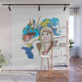 HTTYD | Astrid Wall Mural