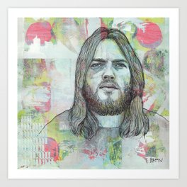 David Gilmour - Is There Anybody Out There Art Print