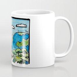 Draw the World Coffee Mug