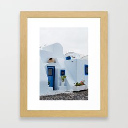 Island house Framed Art Print