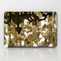 chandelier iPad Cases featuring Chandelier by Alyson Melody