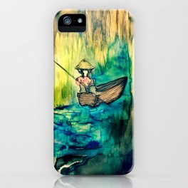 Tales on the Mekong Delta iPhone Case