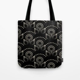 Art Deco 34 . The bird's tail . Tote Bag