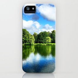Clear & Blurry  iPhone Case