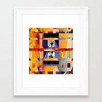 dia de los muertos Framed Art Prints featuring Dia de los Muertos by Jose Luis