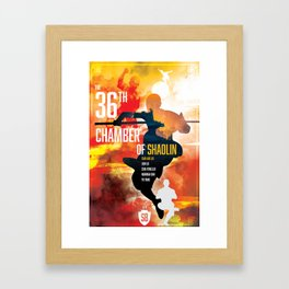 Shaw Brothers Poster Series :: The 36th Chamber of Shaolin Framed Art Print