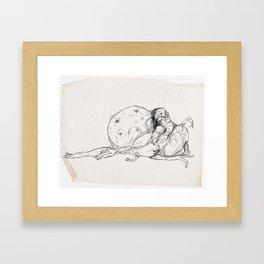 Sketch #5 Framed Art Print