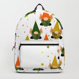 Merry Gnoming Christmas Backpack