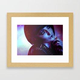 Charlottte Framed Art Print