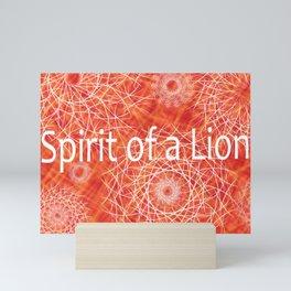 Leo: Spirit of a Lion Mini Art Print