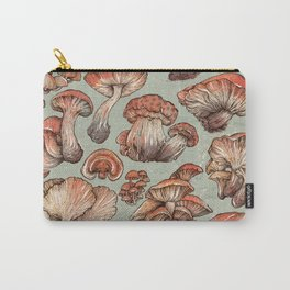 A Series of Mushrooms Carry-All Pouch