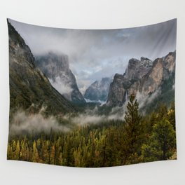 Yosemite National Park / Tunnel View  4/26/15 Wall Tapestry