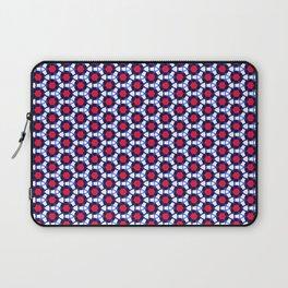 Red & Blue Pattern Laptop Sleeve