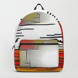 Sailing at Sunset Backpack