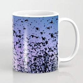 Blue sky birds freedom flight Coffee Mug