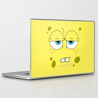 spongebob Laptop & iPad Skins featuring SpongeBob by Thorin