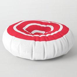 Bullseye Target Floor Pillow