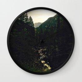 Chasm Falls Trail Wall Clock