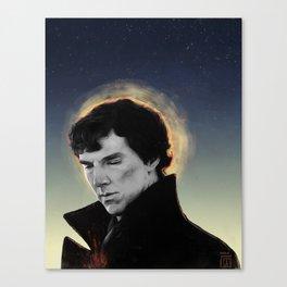 racing mind & human heart - Sherlock Holmes Canvas Print