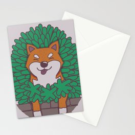 Just hangin' out here.. (Inu Series) Stationery Cards