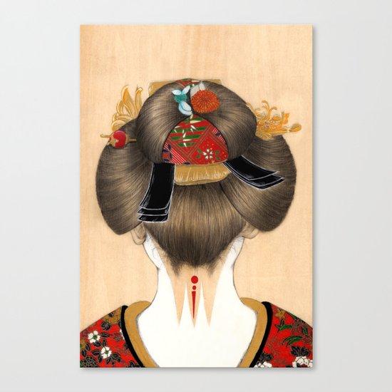 Turning Japanese IV Canvas Print