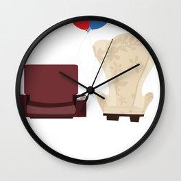 u p Wall Clock