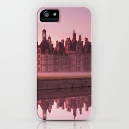 Chateau Chambord at dawn iPhone Case
