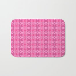 Wild Roses With Garden Background Abstract Bath Mat