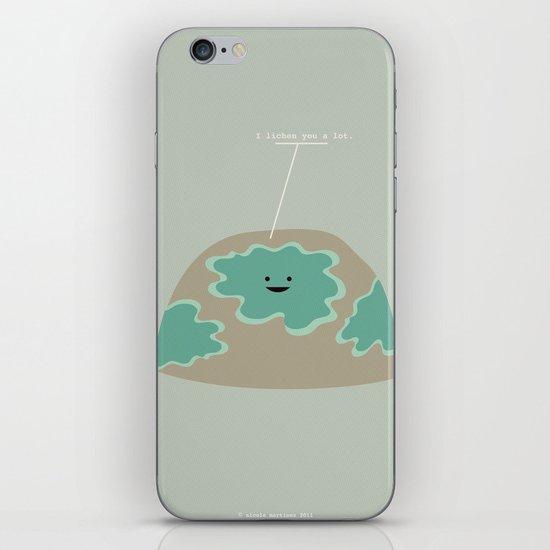 I Lichen You a Lot iPhone & iPod Skin