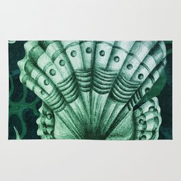 Dystopian Cockle - Lambent Green Rug