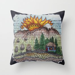 New Sunrise Throw Pillow