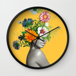 Bloom 5 Wall Clock