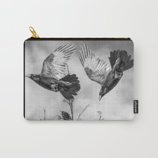 Krummar (raven) Carry-All Pouch