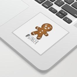 #Ginger Sticker