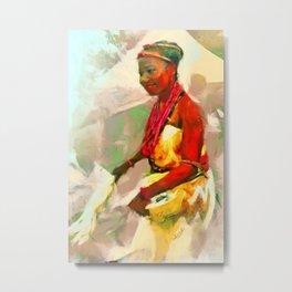 Ada Ada [Igbo Bride] Metal Print