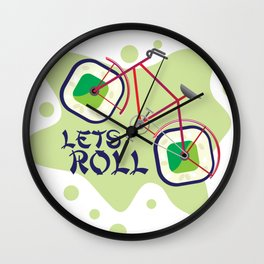 Lets Roll! Wall Clock