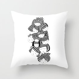 Into Her World Throw Pillow